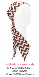 L3083 Brown Chevron